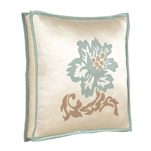Eastern Accents Kinsey Witcoff Hand Painted Decorative Pillow