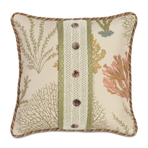 Eastern Accents Caldwell Polyester Garza Decorative Pillow with Mini Welt