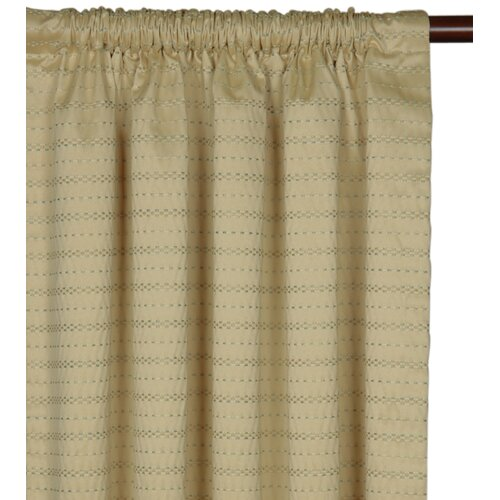 Eastern Accents Southport Rod Pocket  Curtain Single Panel