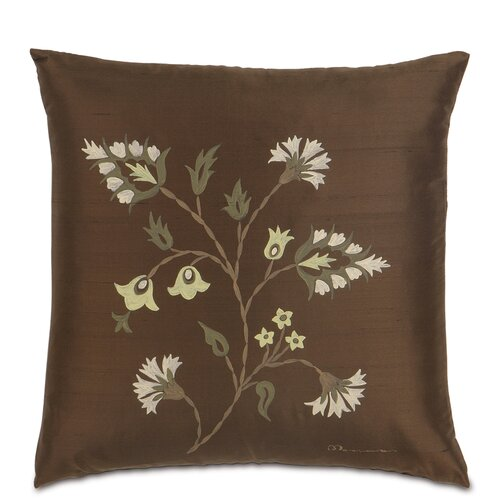 Michon Polyester Hand-Painted Serico Decorative Pillow