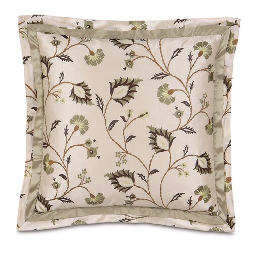 Michon Polyester Decorative Pillow with Double Flange