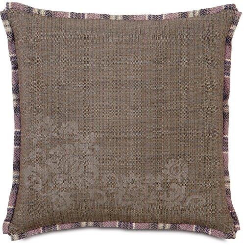 Mica Farrow Polyester Block Printed Decorative Pillow