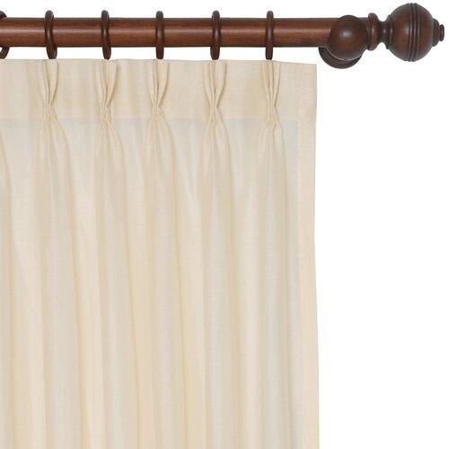 Eastern Accents Garnier Danville Cotton Pleat Curtain Single Panel
