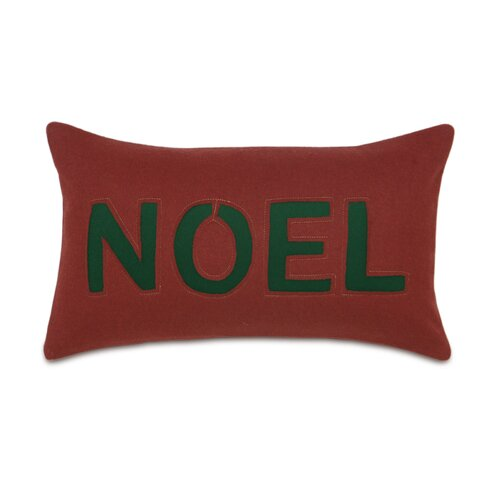 Home for The Holidays Noel Decorative Pillow