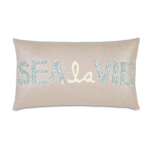 Coastal Decorative Throw Pillows : Eastern Accents Coastal Tidings Sea La Vie Decorative Throw Pillow & Reviews Wayfair