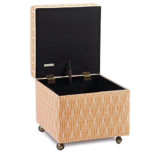 Eastern Accents Dawson Storage Box Ottoman