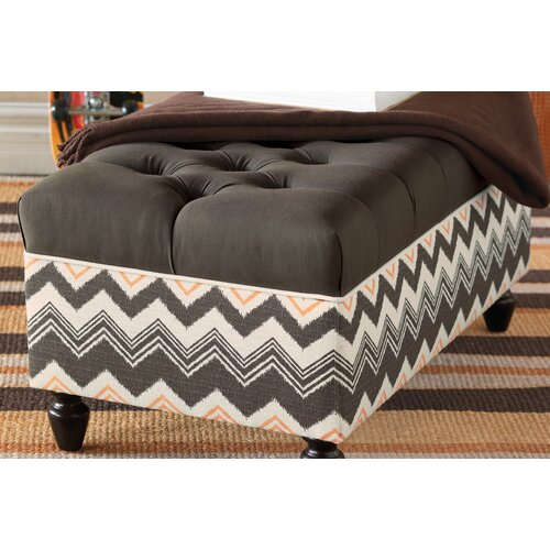 Eastern Accents Dawson Storage Bench Ottoman