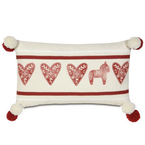 Nordic Holiday Lucy's Hearts Pillow