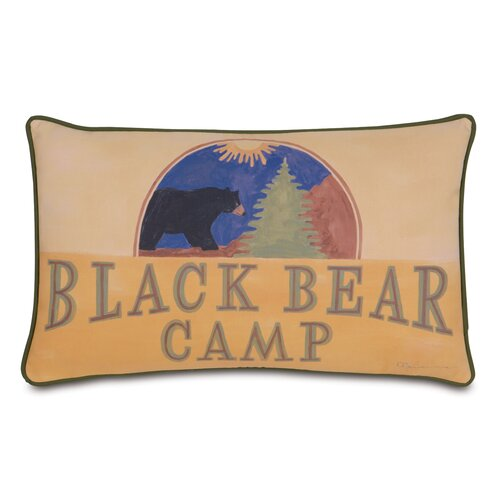 Eastern Accents Pinkerton Polyester Eli Bear Camp Decorative Pillow