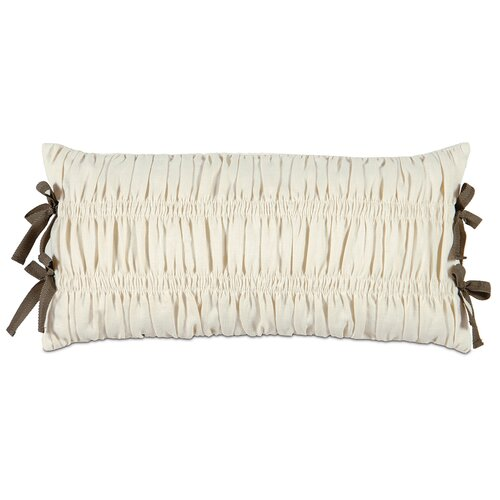 Eastern Accents Daphne Polyester Breeze Decorative Pillow with Ribbon Ties