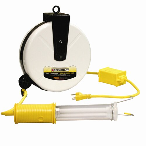 Reelcraft Fluorescent Light Cord Reel