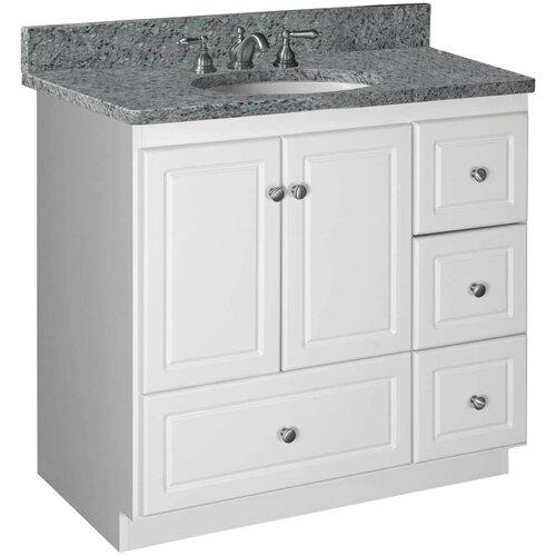 Strasser Woodenworks Simplicity 36 Bathroom Vanity Base Reviews Wayfair