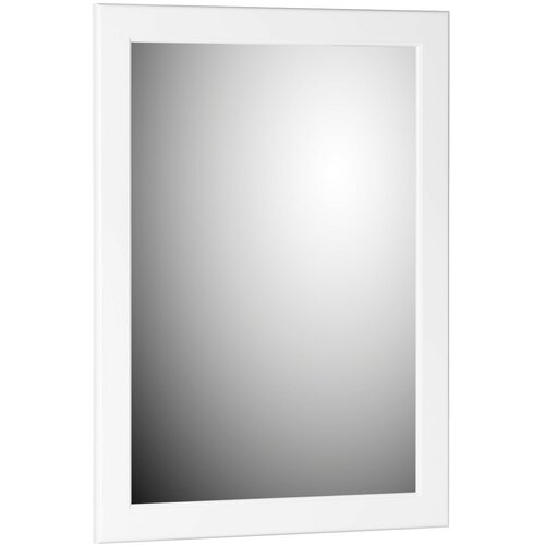 Simplicity Rounded Edge Framed Mirror