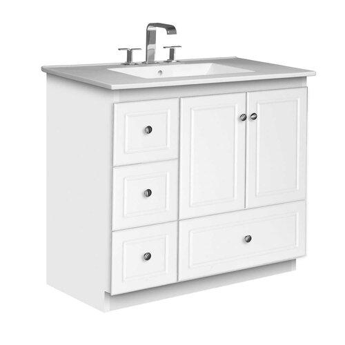 "Strasser Woodenworks Simplicity 37"" Bathroom Vanity Set"
