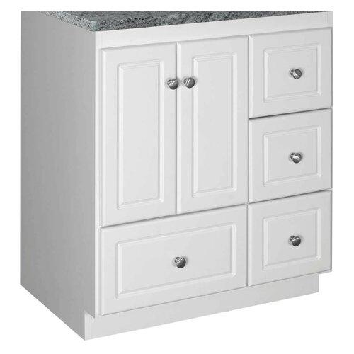 "Strasser Woodenworks Simplicity 30"" Bathroom Vanity Base"