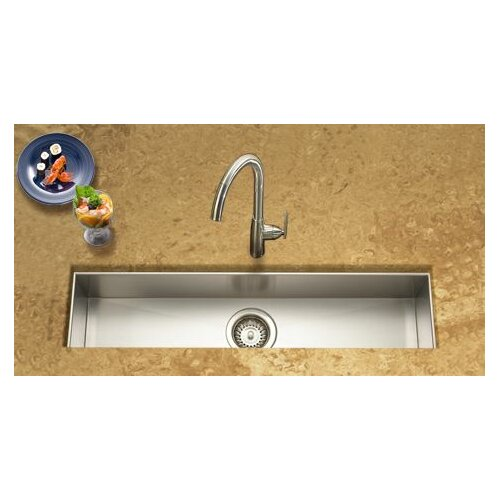 Trough Bar Sink : Houzer Contempo 32