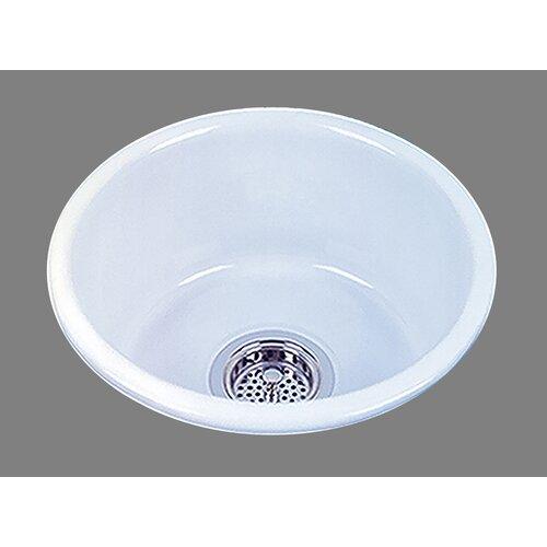 "Bates & Bates Ceramics 14.5"" x 14.5"" Selena Bar Sink"