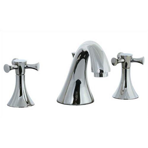 Cifial Brookhaven Widespread Bathroom Sink Faucet with Double Cross Handles