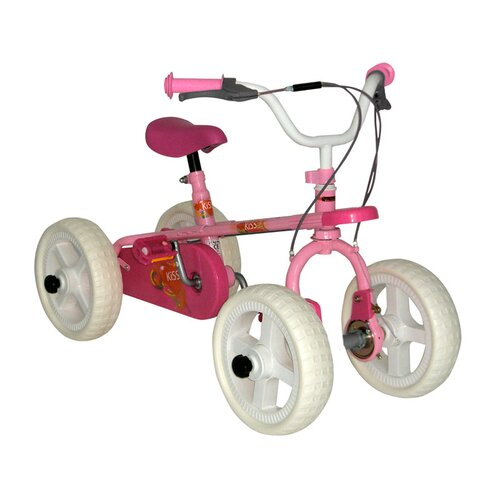 Big Toys Girl's Three In One Quadra Bike
