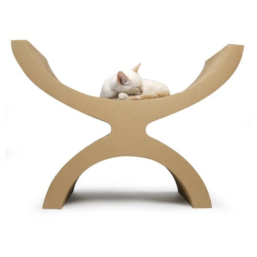 Couchette Modern Recycled Paper Cat Perch