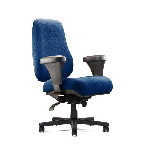 Big and Tall Extra Large Back Task Chair with Extra Large Seat and Minimal Contour ...
