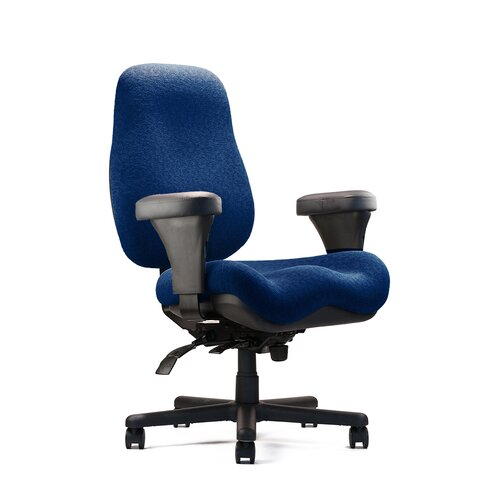Big and Tall Jr. Large Back Task Chair with Large Seat