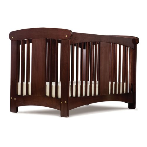 Cariboo New Zealand Classic Cot in Mahogany Stain