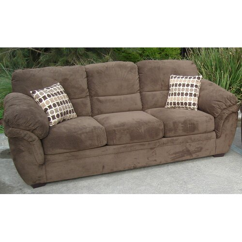 By Designs Kingston 3 Seater Sofa Bed with Inner Spring Mattress