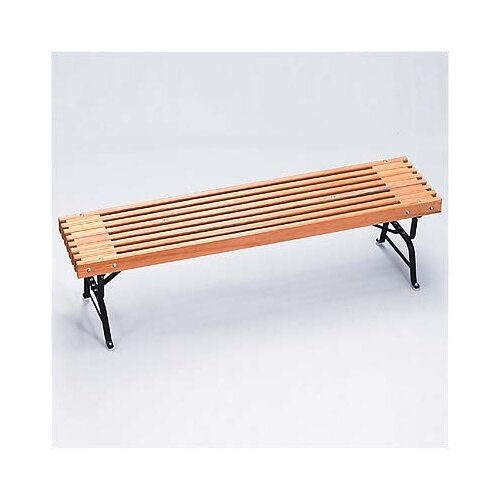 Algoma Net Company Traditional Wood and Metal Picnic Bench