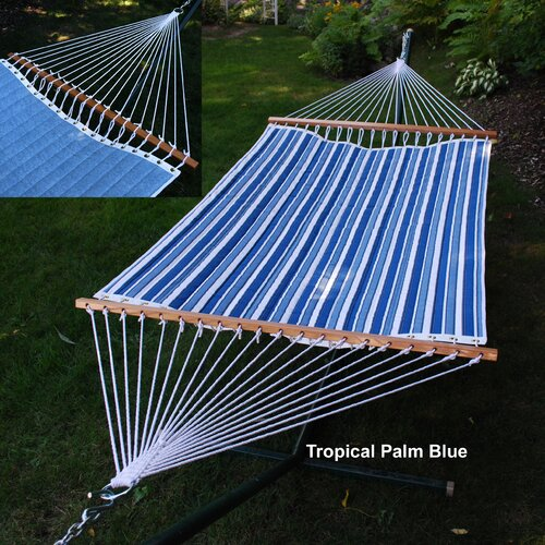 Algoma Net Company Reversible Quilted Hammock