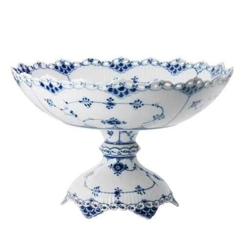 Royal Copenhagen Blue Fluted Full Lace Bowl