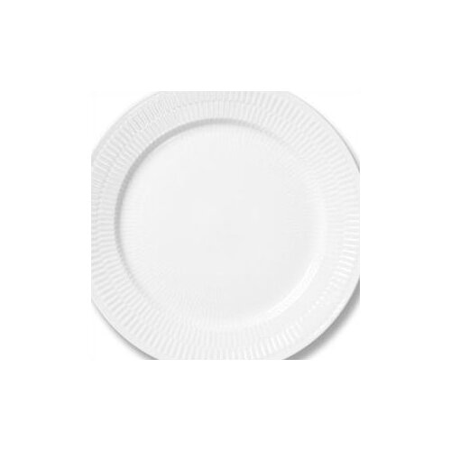 "Royal Copenhagen White Plain 10.75"" Dinner Plate"