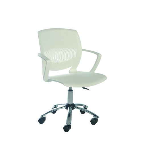 Sylex Ergonomics Biot Task Chair Mid-Back in White