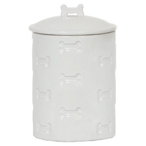 Unleashed Life Bone Appetit Dog Treat Canister