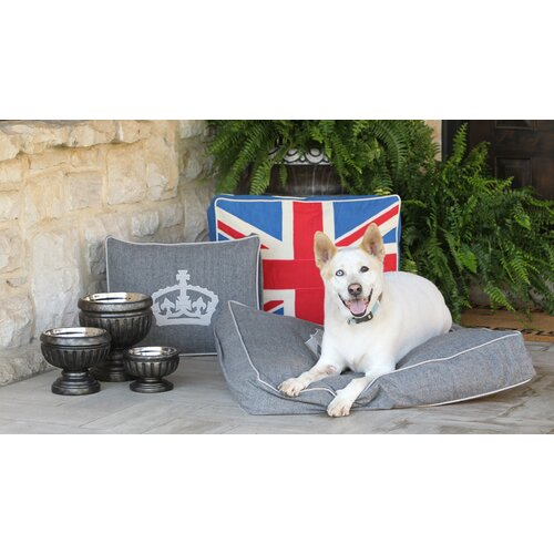 Unleashed Life Union Jack Dog Pillow