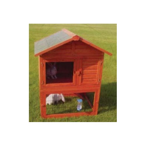 All Pet Products 3 Piece Wooden Rabbit Hutch