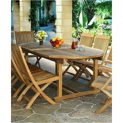 Three Birds Casual Chelsea Oval Extension Dining Table