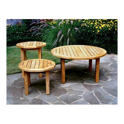 Three Birds Casual Canterbury Low Round Side Table