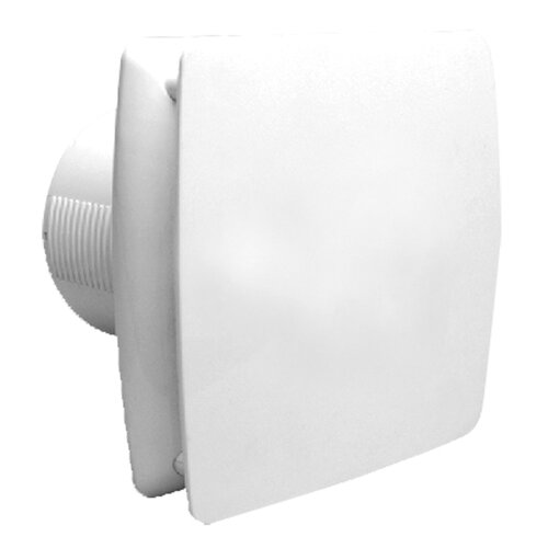 Ventair Universal 150 - 15cm Modern Wall / Ceiling Exhaust Fan with Back Draft Shutter in White