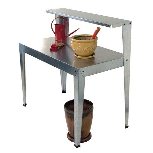 Poly-Tex Galvanized Steel Potting Bench