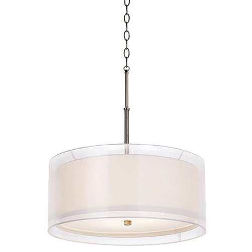 Seeri 3 Light Drum Pendant