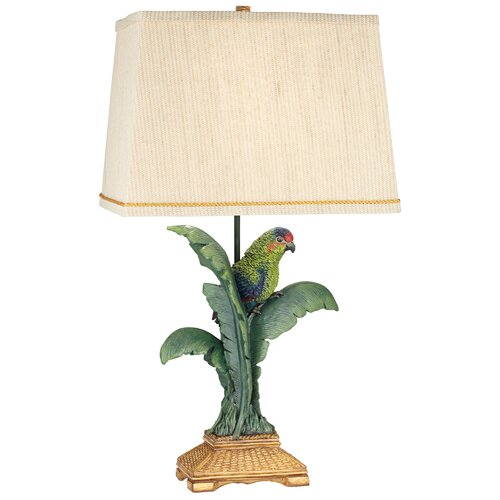 Pacific Coast Lighting Tropical Parrot 30 H Table Lamp