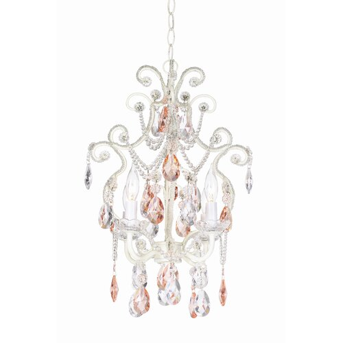 Pacific Coast Lighting Essentials 4 Light Chateau Elegance Mini Chandelier