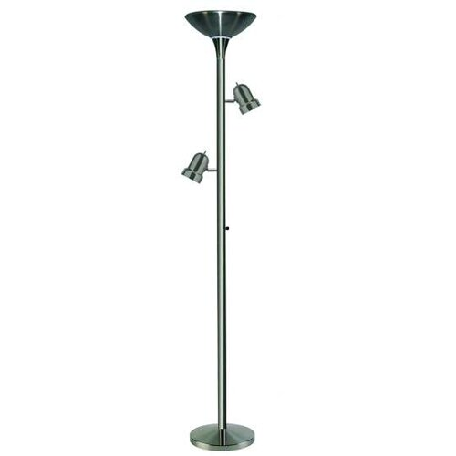 Pacific Coast Lighting Sleek Shot Torchiere Floor Lamp