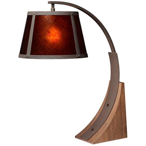 """Pacific Coast Lighting PCL River Arc 30"""" H Table Lamp with Empire Shade"""