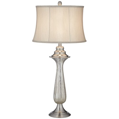 """Pacific Coast Lighting PCL Revere Dusk 36"""" H Table Lamp with Bell Shade"""