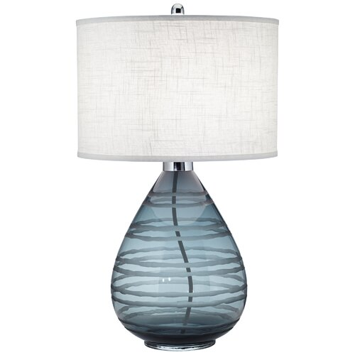 """Pacific Coast Lighting PCL Portia 31"""" H Table Lamp with Drum Shade"""