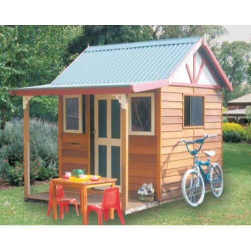 Cedar Shed Shanty Cubby House
