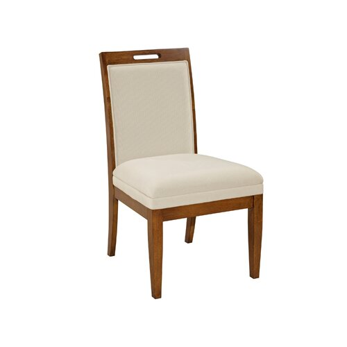 Broyhill® Suede Upholstered Back Side Chair