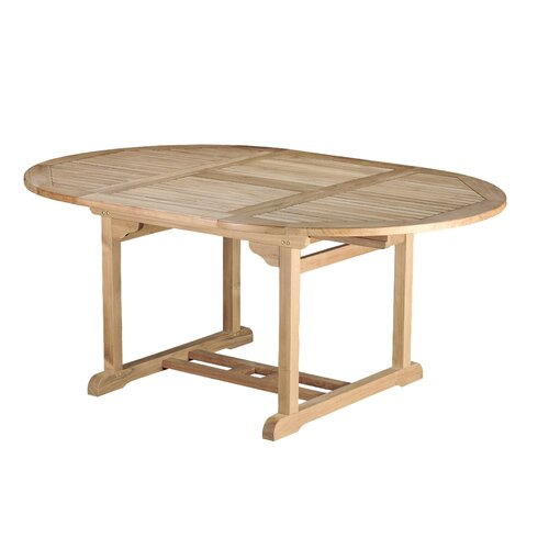 Arbora Teak Bermuda Teak Round Dining Table